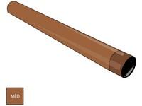 Měděný svod Ø 100 mm délka 1000 mm