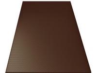Ruukki rovinné tabule 0,5x1250x2000mm PE 30 RR887 čokoládově hnědá