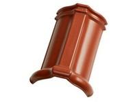 Tondach HR hřebenáč drážkový š.21 červená engoba