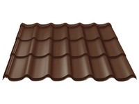 Ruukki Monterrey PE 30 0,5mm RR887 čokoládově hnědá