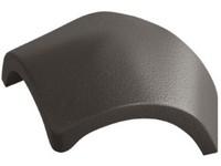 Betonpres Exclusiv hřebenáč Y rozdělovací včetně vrutu břidlicově černá