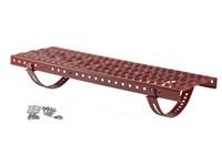 Betonpres plošina stoupací set 250x800mm červenohnědá