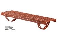 Betonpres plošina stoupací set 250x800mm cihlová